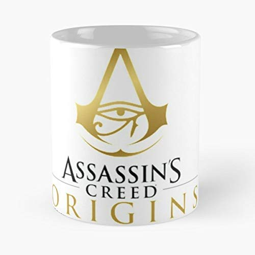 Assassin S Creed Origins Ninja - 11 Oz Coffee Mugs Unique Ceramic Novelty Cup, The Best Gift For Holidays.]()