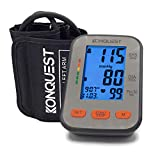 Our product review for Konquest KBP-2704A Automatic Upper Arm Blood Pressure Monitor - Accurate, FDA Approved - Adjustable Cuff, Large Screen Display, Portable Case - Irregular Heartbeat & Hypertension Detector -Tensiometro