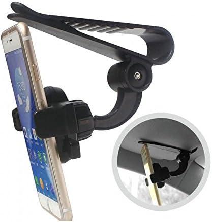 Takestop® - Soporte para Smartphone Z01 con clip gancho para el ...