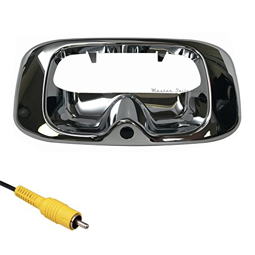 Chevy Chevrolet Silverado 1500 Tailgate (Master Tailgaters Chevrolet Silverado/GMC Sierra 1999-2006 CHROME Tailgate Handle with Backup Camera)