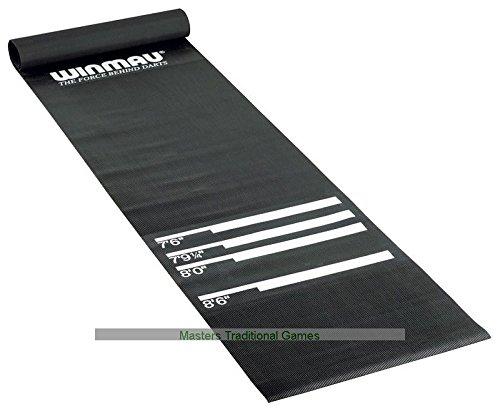 Winmau heavy duty Rubber dart mat by Winmau
