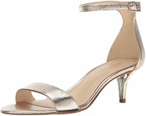 Nine West Women's Leisa Metallic Heeled Sandal