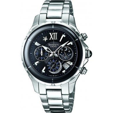 Casio SHE-5512D-1ADF Ladies SHEEN Chronograph Watch