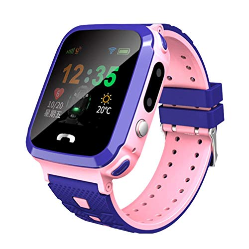 Kids Smart Watch Waterproof Smart Watch for Kids Touch Screen Watches for Boys and Girls Safety Watch for Kids Kids GPS…