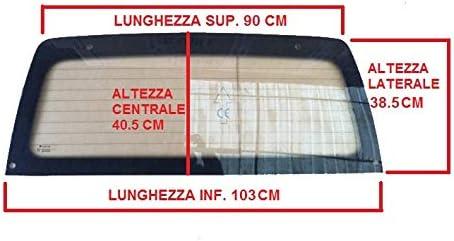 1000429 GLAS KRISTALL MICROCAR VIRGO I II III THERMICO