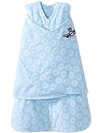 SleepSack Micro Fleece Swaddle, Blue Aviator, Newborn