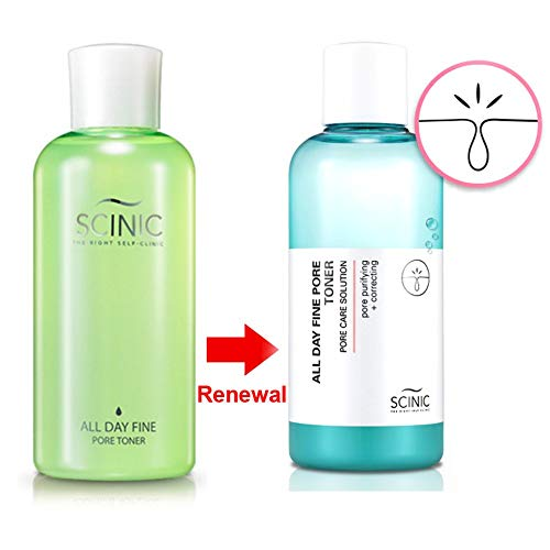 SCINIC All Day Fine Pore Toner 200ml (Scinic Honey All In One Ampoule Ingredients)
