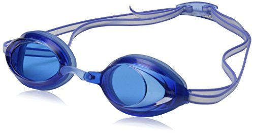 Speedo Jr. Vanquisher 2.0 Swim Goggles, Blue, One Size (Speedo Goggle Nose Piece)