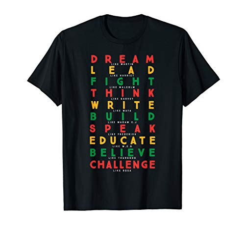 Black History Month African American Country 2019 T-Shirt ()