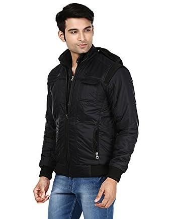 Ico Blue Stor Men's Solid Regular Jacket