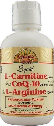 DYNAMIC HEALTH LABORATORIES INC L-Carnetine w/CoQ-10 Plus L-Arginine 16 (Coq10 Plus L-arginine)