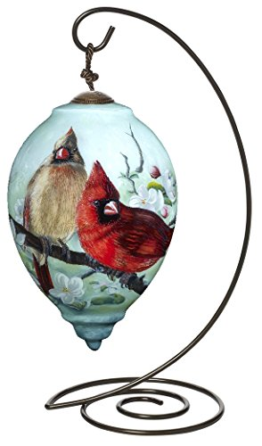 Ne'Qwa Princess Shaped Glass Ornament with Classic Hanging Stand,