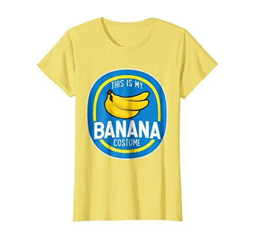 Womens This Is My Banana Costume Funny Halloween Shirt Adults Kids Small (Cute Banana Costumes)