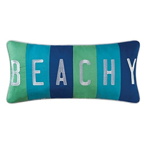 C F Home, Imperial Coast Boudoir Beachy Pillow – Coastal Nautical Theme