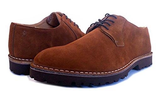 PORTMANN  Classic,  Herren Desert Boots , braun - Hazelnut suede - Größe: 44 EU