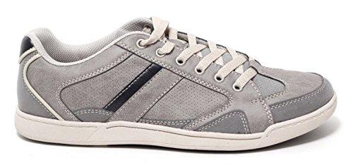 Herren Sneaker Halbschuhe Freizeitschuhe Schnürschuhe Herrenschuhe STONE GREY Gr. 41-45