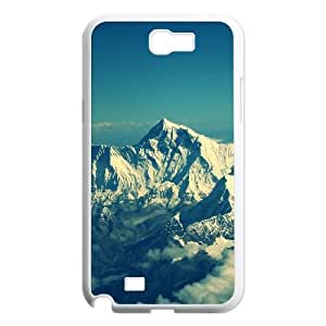 Himalaya Mountain Snow Samsung Galaxy N2 7100 Cell Phone Case White phone component RT_168852