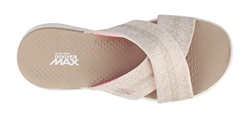 Go 400 Women's On Flop Flip Skechers Taupe Performance Tropical The wpFqOIRIW