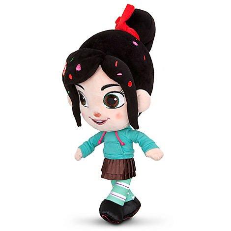 Wreck-It Ralph 12'' Vanellope Plush by Disney - Wreck It Ralph Doll