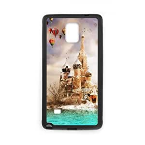 Samsung Galaxy Note 4 Cell Phone Case Black Moscow Dreamland SUX_039662