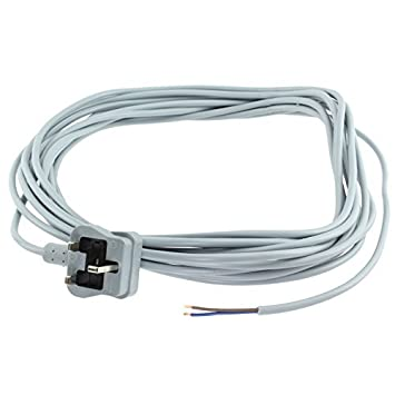 Spares2go Mains Power Cable /& Plug for Numatic Henry Hetty Vacuum Cleaner
