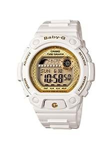 Casio Women's BLX100-7B Baby-G Shock Resistant Glide White Multi-Function Watch