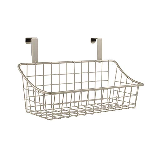 Spectrum Diversified Over the Cabinet Grid Basket, Small, Satin Nickel