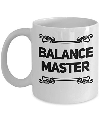 Vestibular Therapist Gift - Balance Master Coffee Tea Mug - Balance Physical Therapy Present