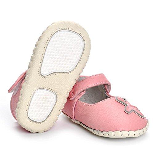 Domybest Baby Säugling Mädchen Frühling Herbst Anti Slip Schuhe Leder weichen Sohle 0-18 Monate Baby Walking Schuhe