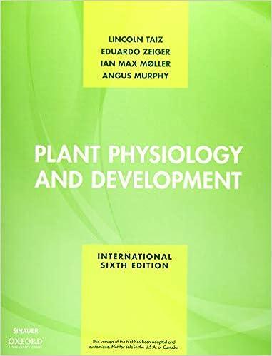 Zeiger plant physiology lincoln pdf eduardo taiz