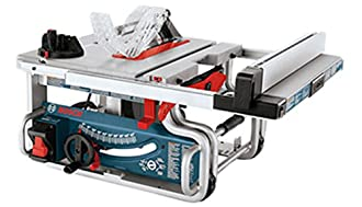 BOSCH Portable Job-Site Table Saw with One-Handed Carrying Handle