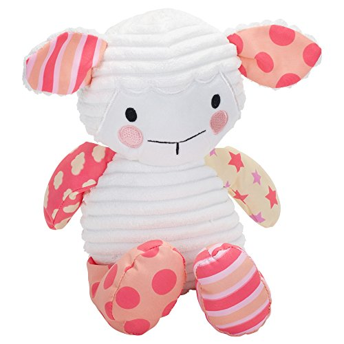 (Wee Believers Lil' Prayer Buddy Pink Lullaby Lamb Musical Stuffed Animal Plays Jesus Loves Me)