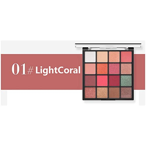 Classi 16 Color Shimmer Or Matte Eye Shadow Palette Long Lasting Eye Shadow,A1 -