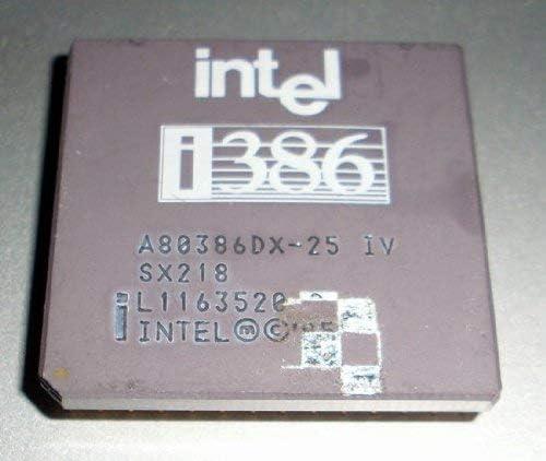 I386 80386 Processor 25MHz Intel SX218