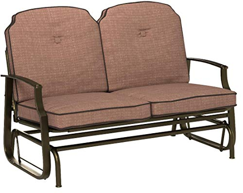 Outdoor Glider Bench With Cushions 3 Different Styles