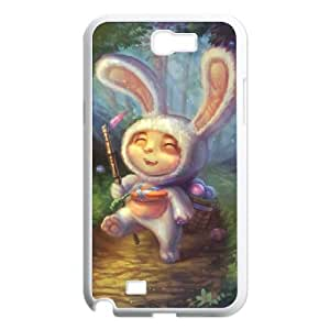 Samsung Galaxy N2 7100 Cell Phone Case White League of Legends Cottontail Teemo L5L7TB