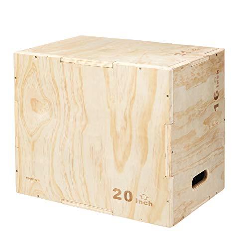 AmazonBasics Wood Plyometric Exercise Box product image