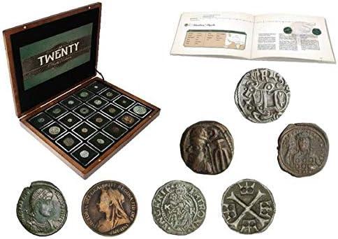Blister de 8 Monedas Aut/énticas SIN Circular IMPACTO COLECCIONABLES Monedas del Mundo Rep/ública Checa