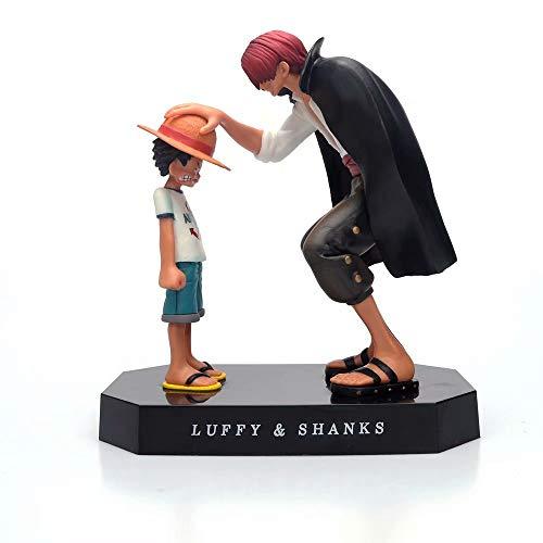 Winklay Una Pieza Figura de Accion Monkey D Luffy/Portgas·D· Ace/Shanks/Sabo Japanese Anime PVC Modelo de Juguete Coleccionable