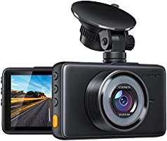 APEMAN Dash Cam 1080P FHD DVR Car Driving Recorder 3 Inch LCD Screen 170° Wide Angle, G-Sensor, WDR, Parking Monitor,...