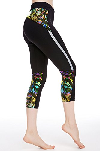 icyZone Womens Workout Leggings Stretch