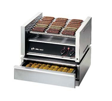 Star SST-30 Grill-Max Hot Dog Bun Warmer (48 Bun Capacity)