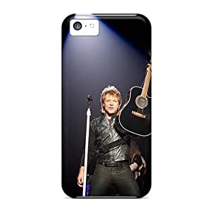 Cases-best-covers Apple Iphone 5c Shock-Absorbing Cell-phone Hard Covers Provide Private Custom High Resolution Bon Jovi Skin [JKy17ljVQ]