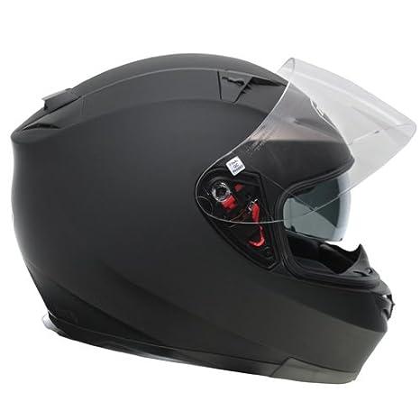 Amazon.es: Zoan Blade Sv mate negro eléctrico lente nieve equitación casco w/visera XS