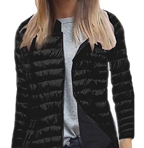 Light Sleeve Women XINHEO Down Jackets Zip Weight Skinny Ultra Long Black Slim Hooded 4qwwd0X