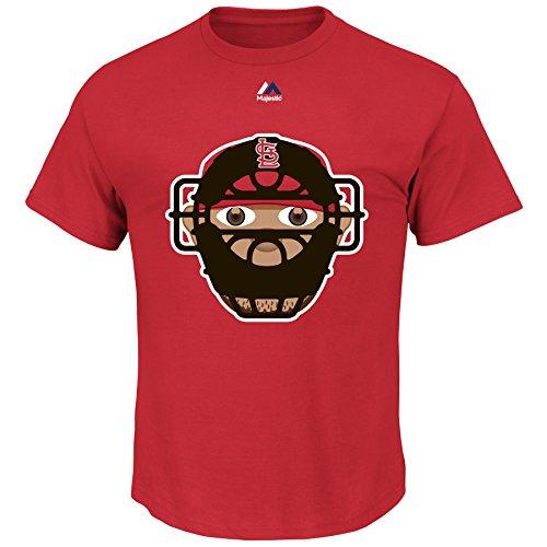 Yadier Molina St. Louis Cardinals #4 MLB Youth Emoji Name & Number T-Shirt (Youth Large 14/16)