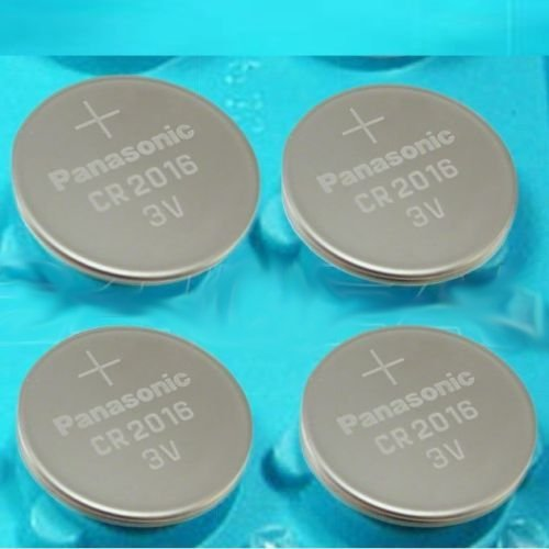 4 Pcs -- Panasonic Cr2016 3v Lithium Coin Cell Battery Dl2016 Ecr2016