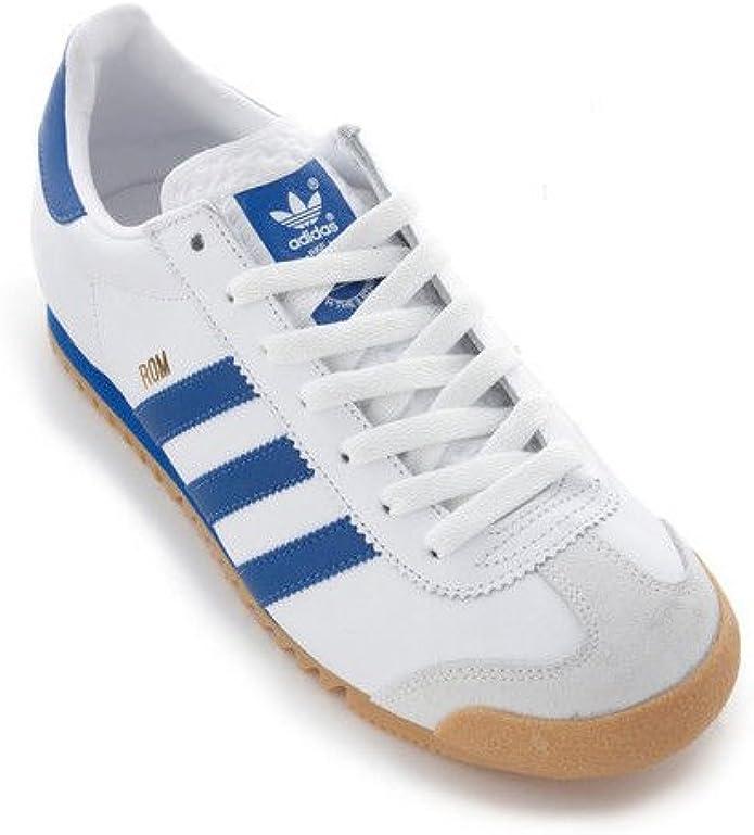 Adidas Originals Rom hommes Cuir… Blanc blanc Achat