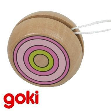 YoYo anneaux colorés 4,80 cm jeu d'adresse Enfant 4 ans +. - Rose