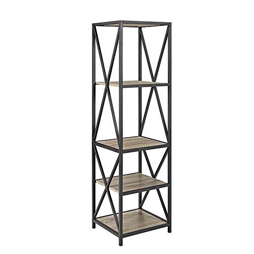 - WE Furniture AZST18XMWAG Bookcase, 61